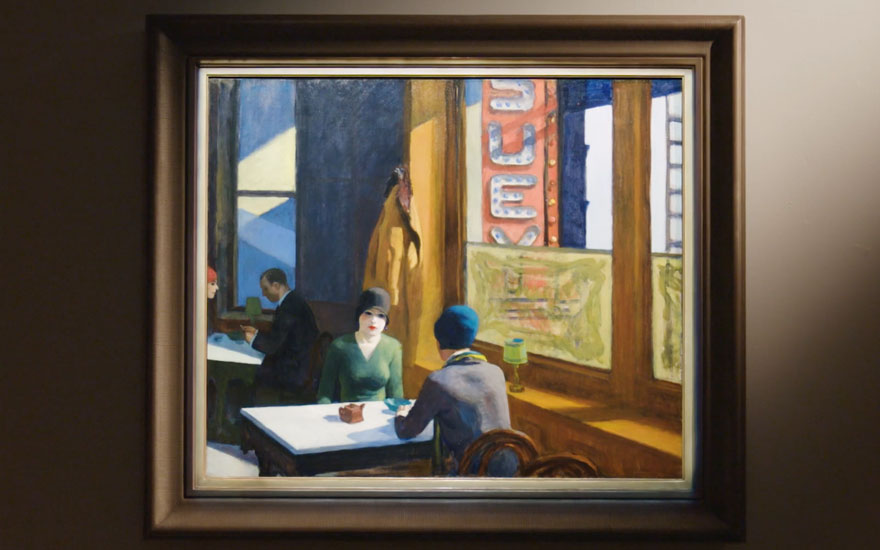The psychological drama of Edward Hopper's 'Chop Suey