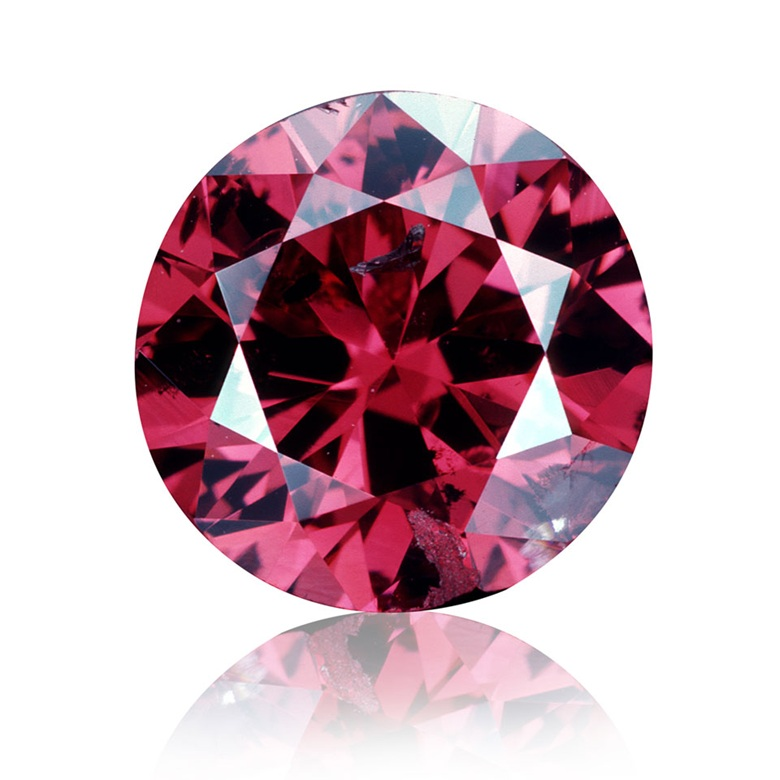 The Hancock Red diamond. Sold for $880,000 in April 1987 at Christie's in New York