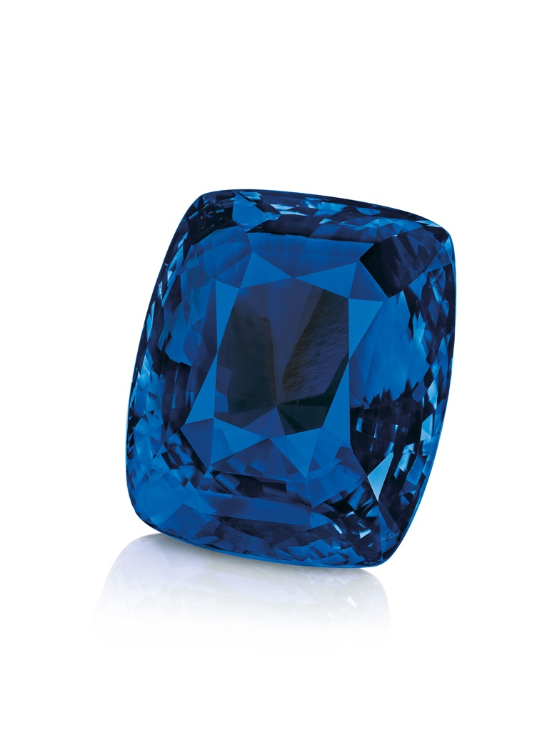 A report dated 11 September 2014 from the Gübelin Gemlab Institute stated that the sapphire is of Ceylon origin, with no indications of heating, stating that the sapphire 'is one of the largest faceted sapphires the Gübelin gem lab has seen to date and possesses a combination of outstanding characteristics'
