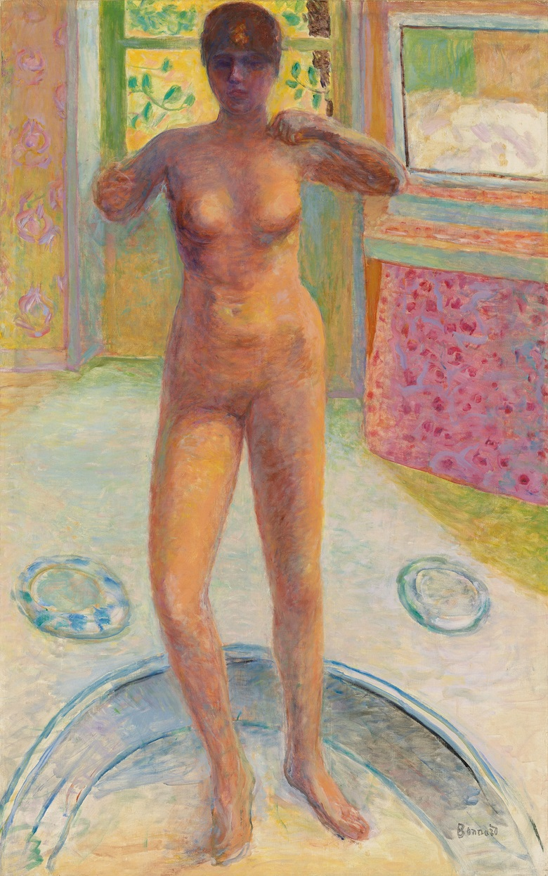 Pierre Bonnard (1867-1947), Femme au tub, 1924. Oil on canvas. 51 x 32 in (129.5 x 81.2 cm). Offered in Hidden Treasures on 27 February 2019 at Christie's in London