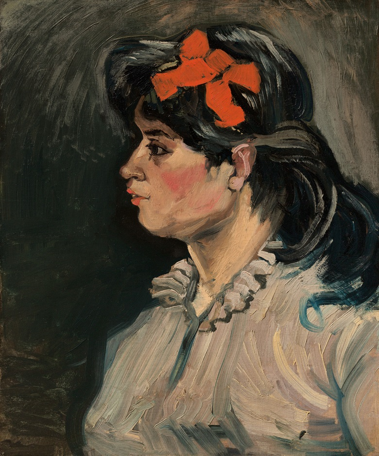 Vincent van Gogh (1853-1890), Portrait de femme buste, profil gauche, 1885. Oil on canvas. 23⅝ x 19¾ in (60 x 50.2 cm). Offered in Hidden Treasures on 27 February 2019 at Christie's in London