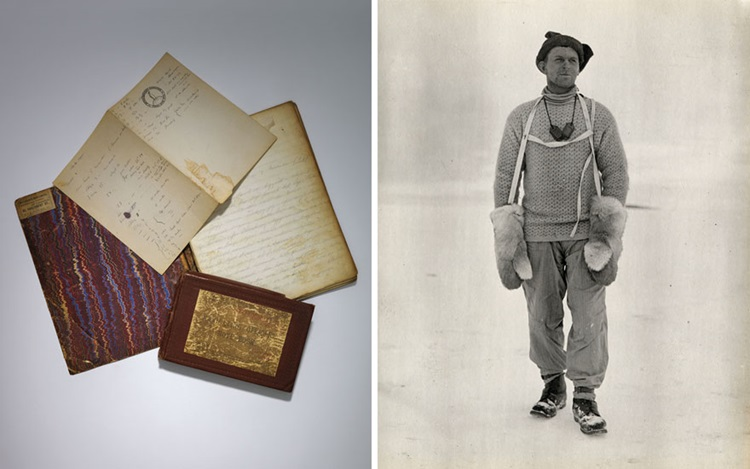 Polar journals by the man who  auction at Christies