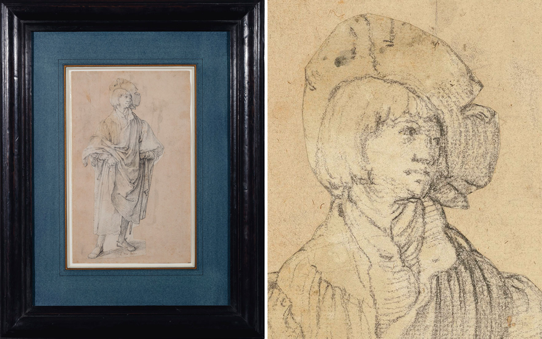 Lucas van Leyden (Leiden 14891494-1533), A Young Man Standing. Offered in Old MastersNew Scholars Works of Art Sold to Benefit Rugby School on 4 December 2018 at Christie's in London