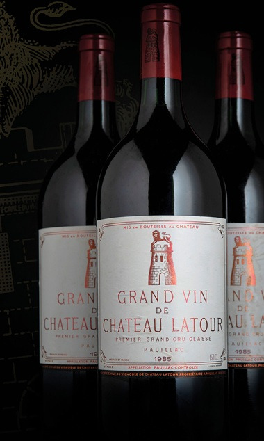 Château Latour 1985, 6 magnums per lot. Sold for £5,400 on 28-29 November 2018 at Christie's in London