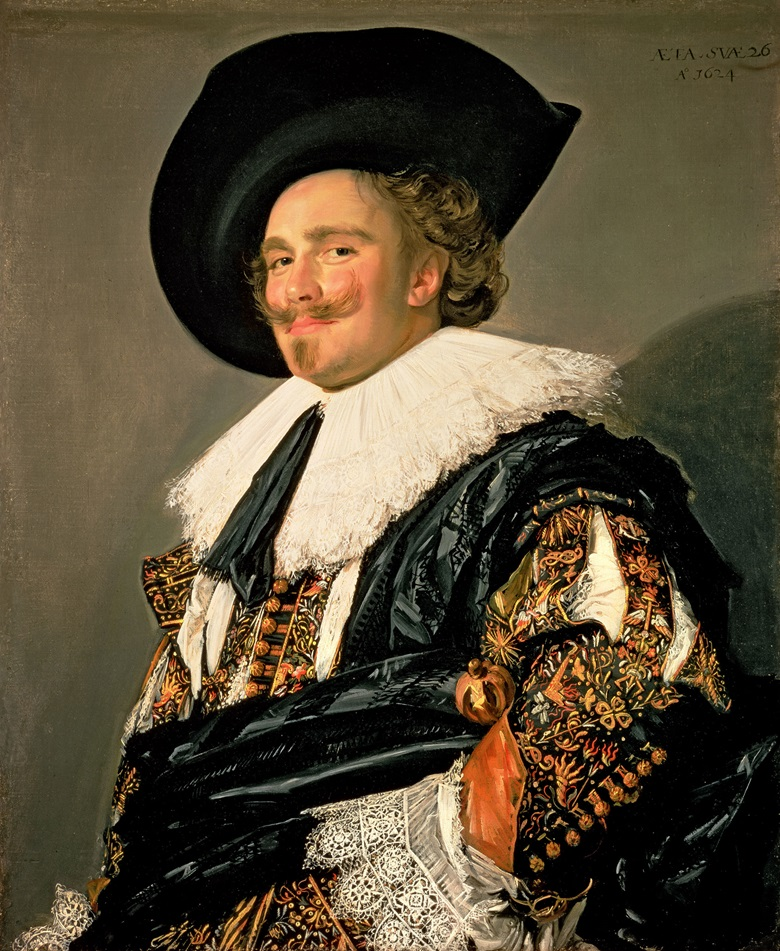 Frans Hals, The Laughing Cavalier, 1624. Wallace Collection, London, UKBridgeman Images