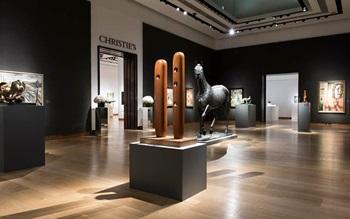 Virtual tour: Modern British A auction at Christies