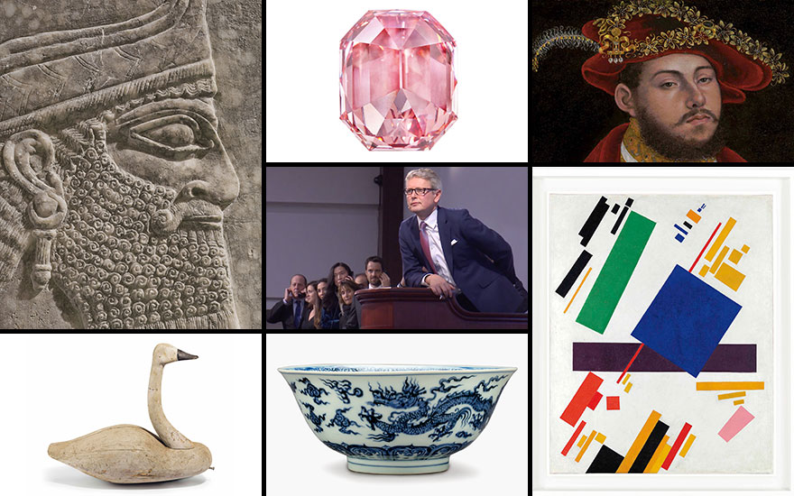 Auction highlights of 2018 — t