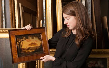 5 minutes with… Landscape with auction at Christies