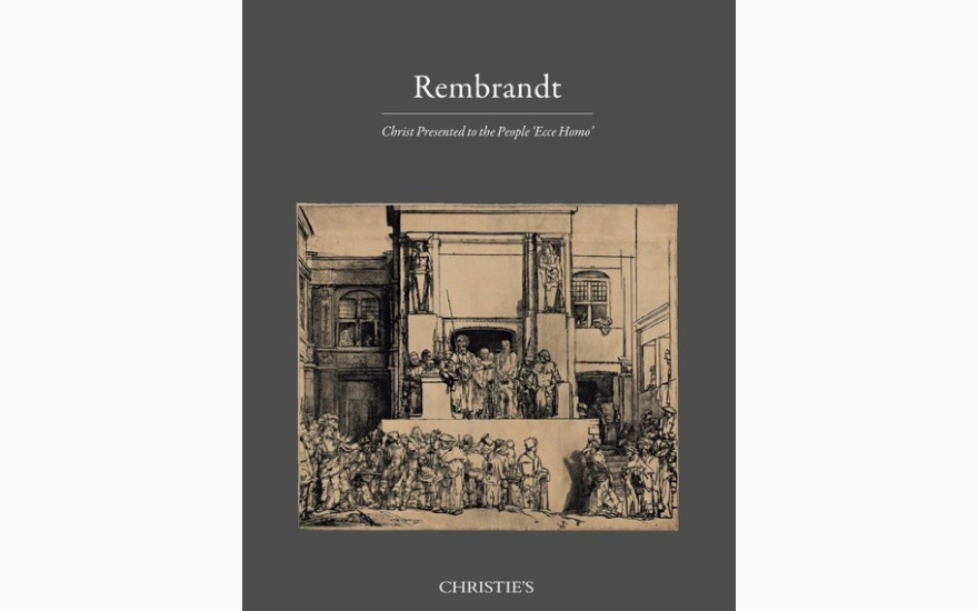 Special Publications: Rembrandt, Christ Presented to the People 'Ecce Homo'