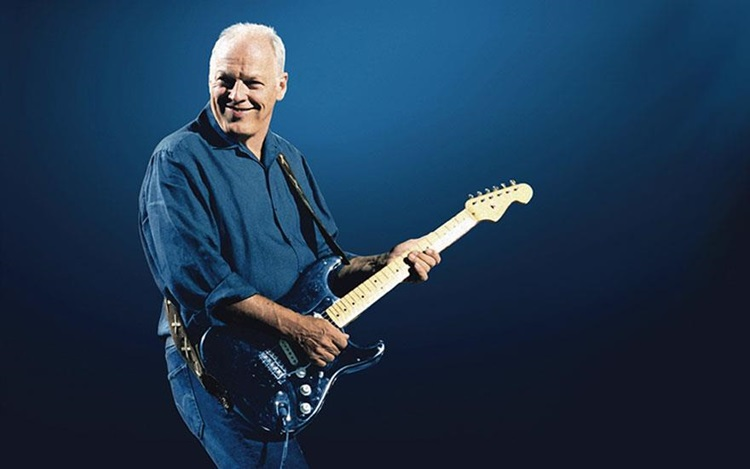 David Gilmour's legendary 'Bla auction at Christies