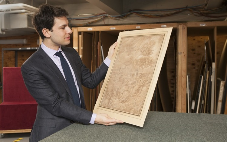 5 minutes with...  Niccolò del auction at Christies