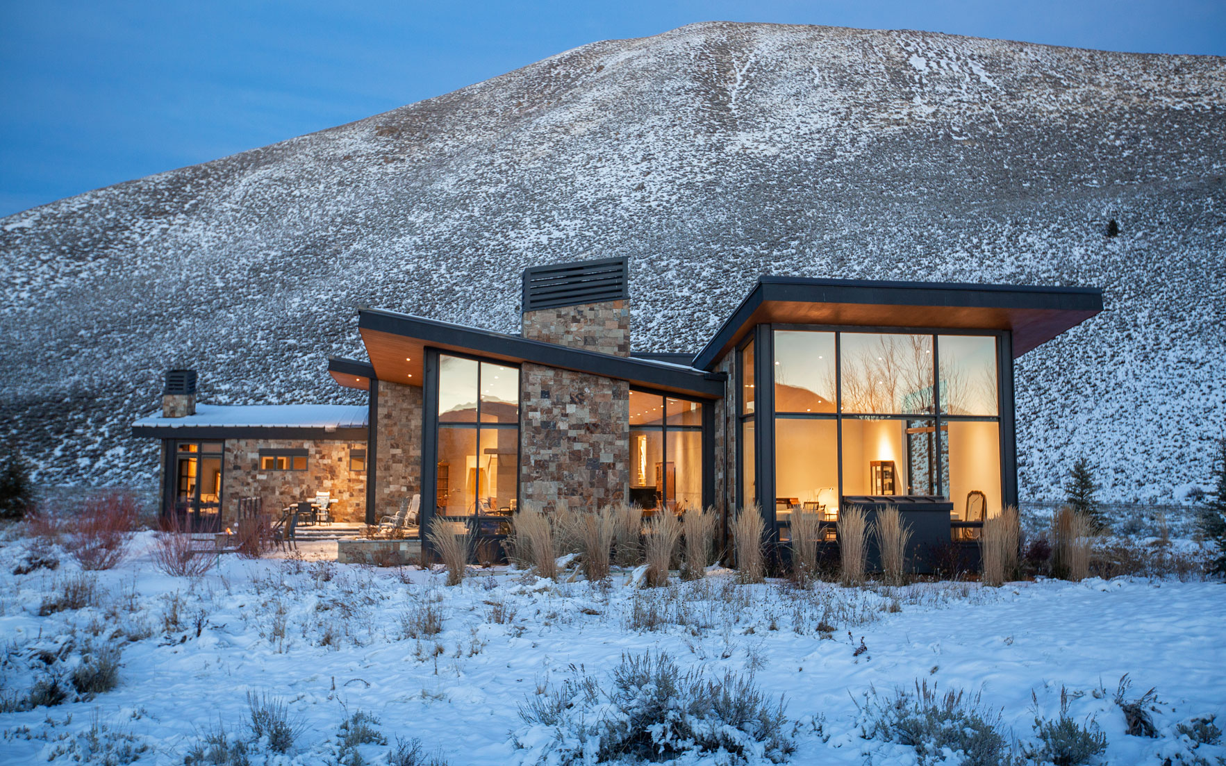 Luxury Living Homes for skiers