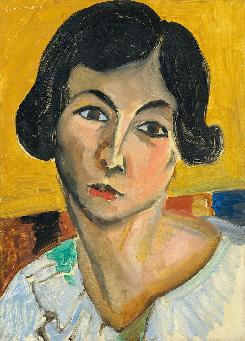 Henri Matisse, Tête de femme penchée (Lorette), 1916-1917. Oil on panel. 13 x 9⅜ in (33 x 23.7 cm). Estimate £1,500,000-2,500,000. Offered in Hidden Treasures on 27 February at Christie's London