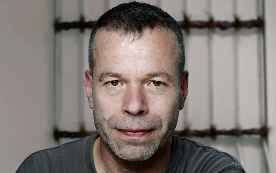 Portrait of Wolfgang Tillmans. Photo Mike Wolff  Der Tagesspiegel