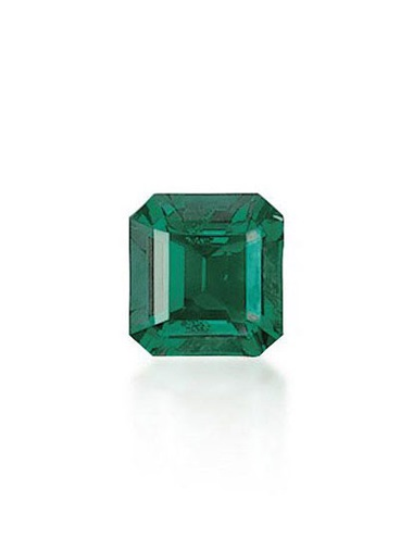 The Muzo Emerald. Sold for CHF 819,000 on 17 November 2010 at Christie's in Geneva