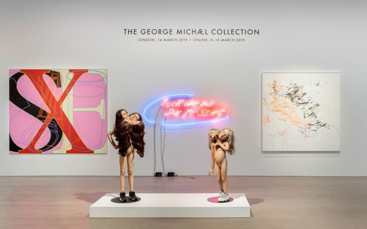 The George Michael Collection: auction at Christies