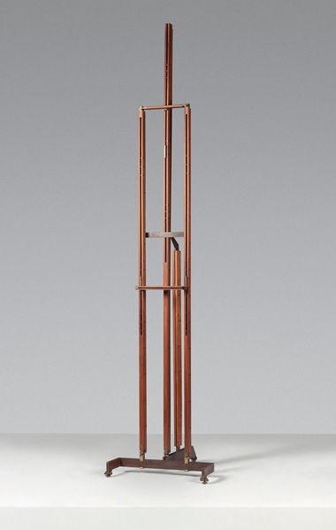 Carlo Scarpa (1906-1978), An easel, designed 1950-1955, later executed. 111  in (282  cm) high. Sold for £150,000 on 6 March 2019 at Christie's in London