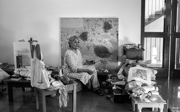 At 82, is Arpita Singh 'the ne auction at Christies