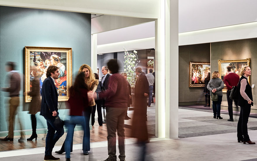 A view from last year's TEFAF in Maastricht