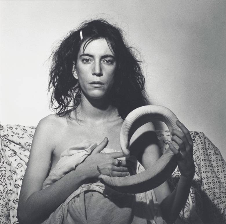 Robert Mapplethorpe (1946-1989), Patti Smith, 1978. Sheetflush mount 19¾ x 15⅞  in (50.2 x 40.3 cm). Estimate $25,000-35,000. Offered in Photographs on 2 April 2019 at Christie's in New York