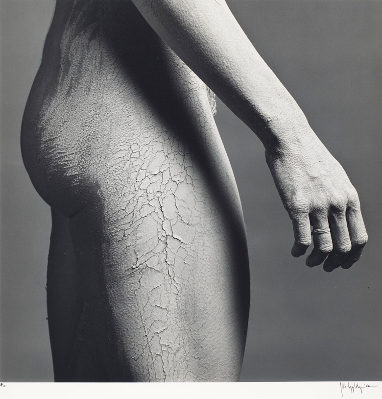 Robert Mapplethorpe (1946-1989), Lisa Lyon, 1982. Sheetflush mount 19⅞ x 15⅞  in (50.5 x 40.4 cm). Estimate $6,000-8,000. Offered in Photographs on 2 April 2019 at Christie's in New York