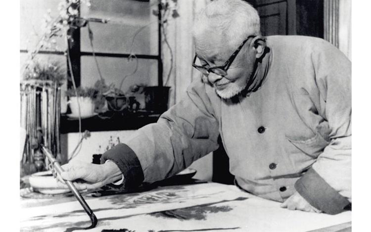 Zhu Qizhan: Gentle virtuoso auction at Christies