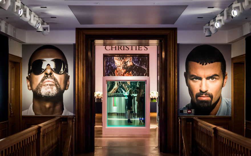 The George Michael Collection At Christies London March