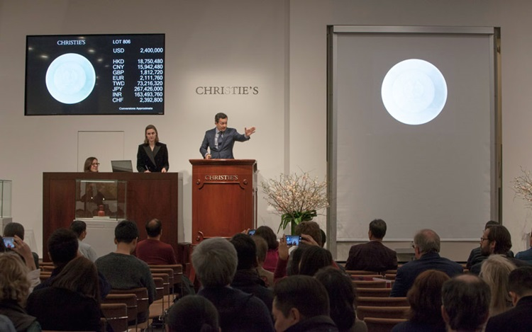 The Irving Collection tops $31 auction at Christies