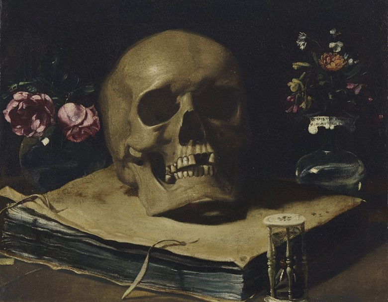 Francesco Barbieri called Guercino (1591-1666), Vanitas Still Life. Oil on canvas. 12 1⁄16 x 15⅜ in (30.5 x 39 cm). Estimate on request. Offered in Old Masters on 1 May at Christie's in New York