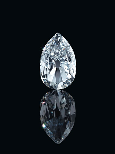 The Arcot II, 17.21 carats. Estimate $2,000,000-4,000,000. Offered in Maharajas & Mughal Magnificence on 19 June 2019 at Christie's in New York