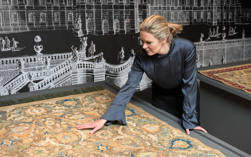 'The state of preservation of both pieces is astonishing,' says Louise Broadhurst of the Polonaise carpets offered in London on 2 May