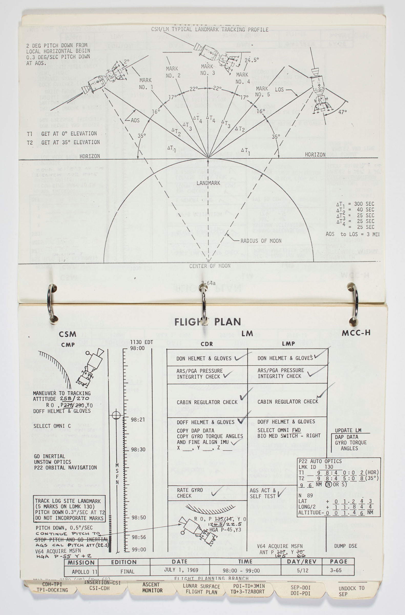 the apollo 11 lunar module timeline book to be auctioned christie\u0027sapollo 11 lunar module timeline book [houston] manned spacecraft center, flight planning