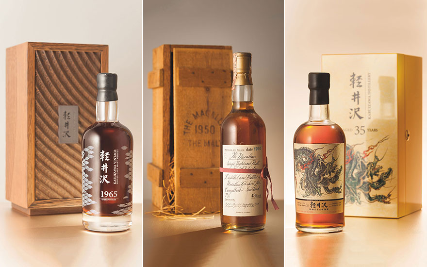 Collecting guide Single malt Scotch and Japanese whiskies