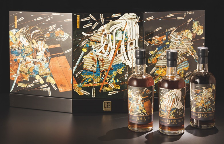 Karuizawa Thousand Arrows. 3 bottles. Estimate HK$170,000-240,000. Offered in Finest & Rarest Wines and Spirits Featuring Prestigious Collections & Exceptional Whisky on 25 May in Hong Kong