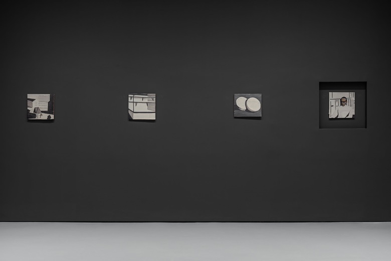 Luc Tuymans, Die Zeit, 1988. Private collection. Installation view at Palazzo Grassi, 2019. © Palazzo Grassi, Photography by Delfino Sisto Legnani e Marco Cappelletti