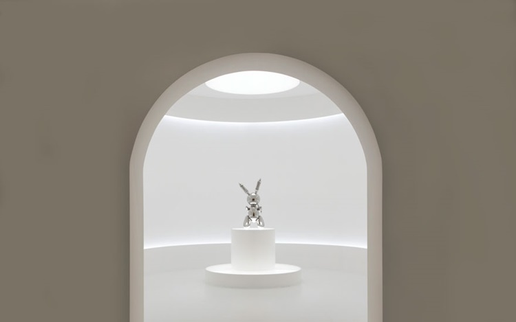 Metal rabbit or the ultimate,  auction at Christies