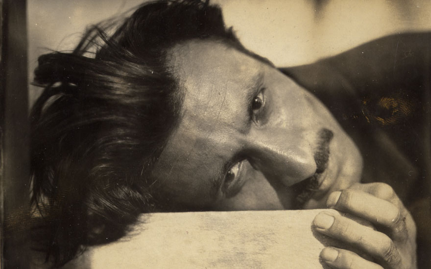 Arshile Gorky, late 1920s. Portrait Unknown Photographer