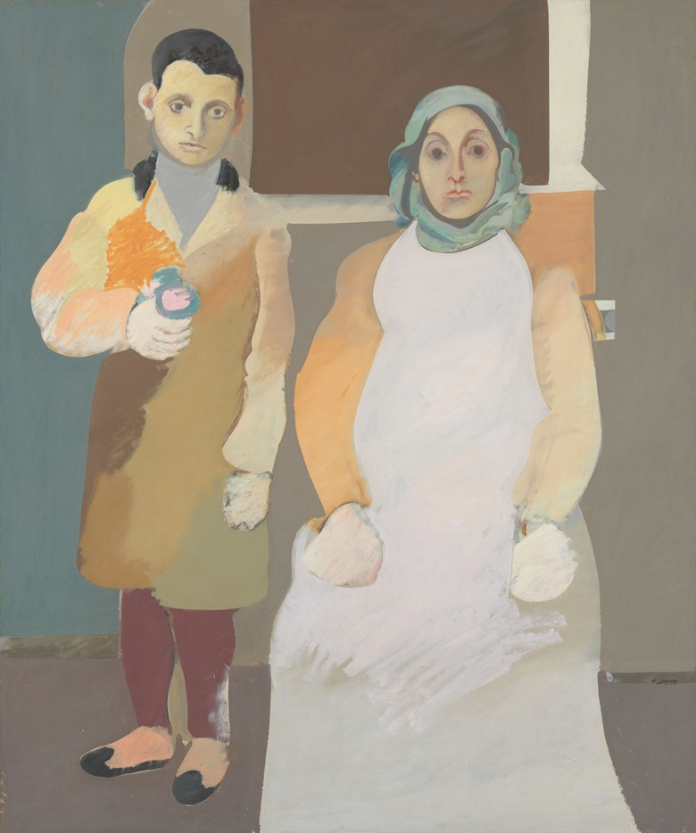 Arshile Gorky, The Artist and His Mother, circa 1926-1936. Oil on canvas. Overall 60 x 50 14in. (152.4 x 127.6 cm). Gift of Julien Levy for Maro and Natasha Gorky in memory of their father. Inv. N. 50.17. Whitney Museum of American Art, New York. Photo Whitney Museum of American ArtLicensed by Scala