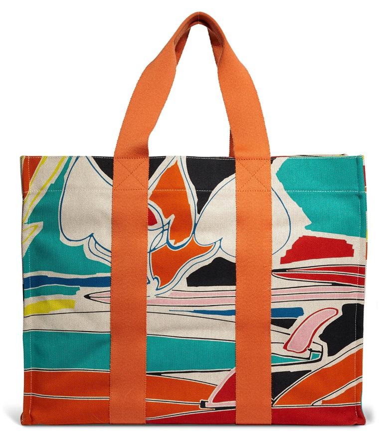 81b5d92d16770 A multicolour canvas Apres le Surf tote bag