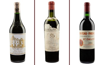 5 of the best Bordeaux vintage auction at Christies