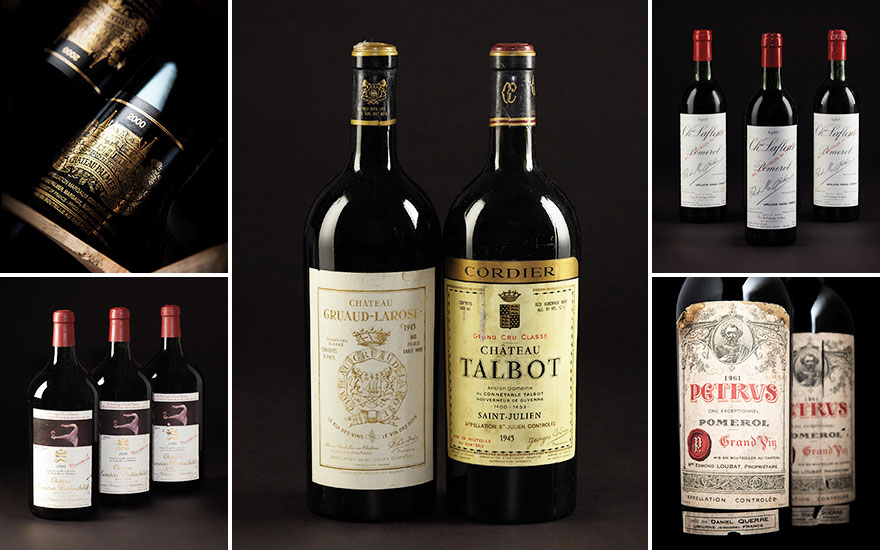 5 of the best Bordeaux vintage