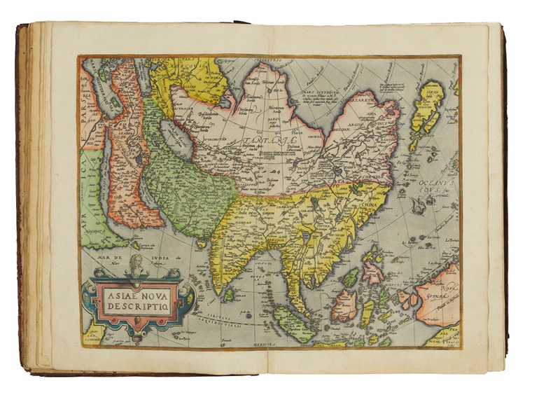 Abraham Ortelius (1527-1598) Theatrum orbis terrarum – Parergon – Nomenclator ptolemaicus. Antwerp, Plantin Press, 1595. Estimate £50,000-80,000. Offered in Valuable Books and Manuscripts on 10 July 2019 At Chrisites in London