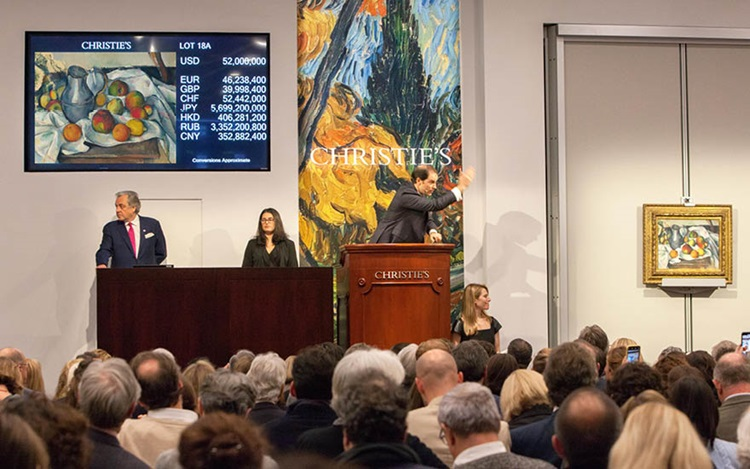 Cézanne from The Collection of auction at Christies