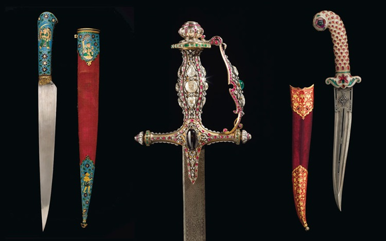 Jewelled daggers and ceremonia auction at Christies
