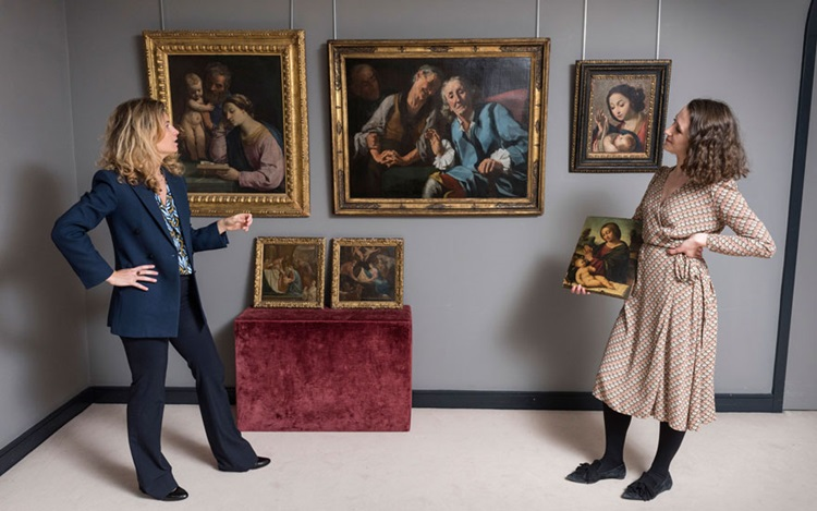 Italian Old Masters — and the  auction at Christies