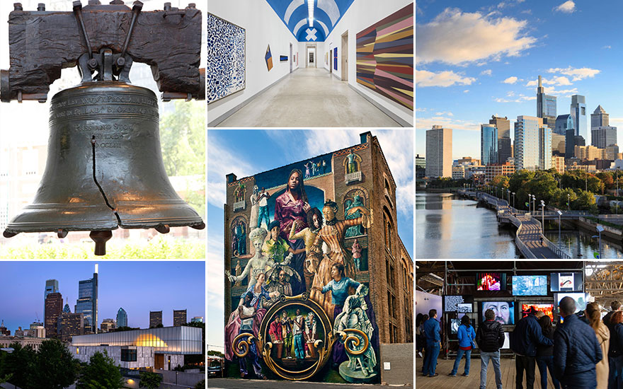 Art cities: How Philadelphia's