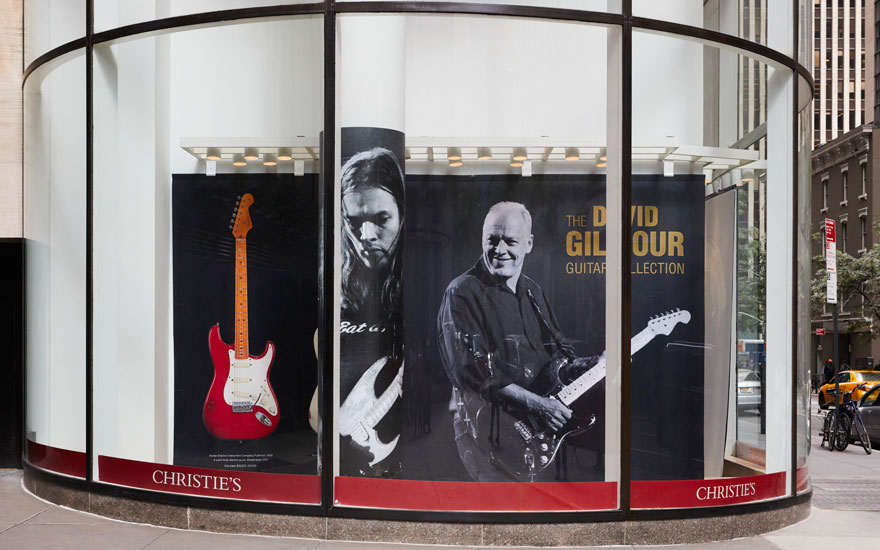 The David Gilmour Guitar Colle