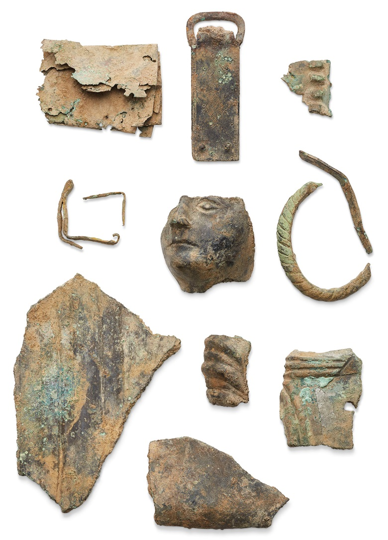 Further artefacts included in the lot estimated at £30,000-50,000 and offered in Antiquities on 3 July 2019 at Christie's in London
