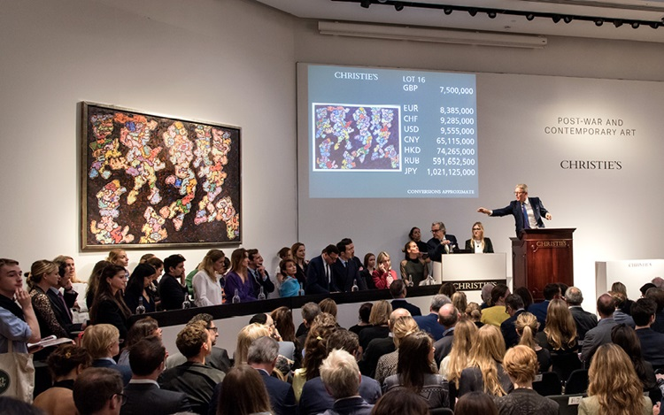 Dubuffet work from 1961 makes  auction at Christies