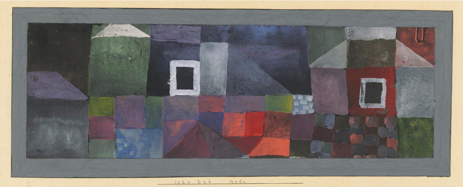 Paul Klee (1879-1940), Mola, Executed in 1924. Estimate £200,000-300,000. This work is offered in the Impressionist & Modern Art Works on Paper Sale on 19 June at Christies London.